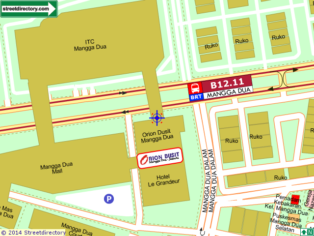 Orion Dusit Street Directory Map